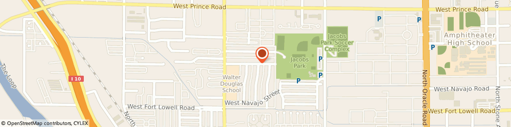 Route/map/directions to Farm Bureau Financial Services, Ana Renteria, 85705 Tucson, 460 W Roger Rd Ste 101