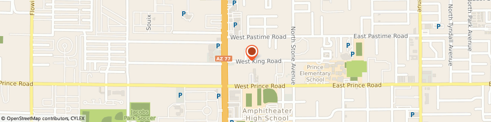 Route/map/directions to The Hearth Foundation, 85705 Tucson, 229 W King Road