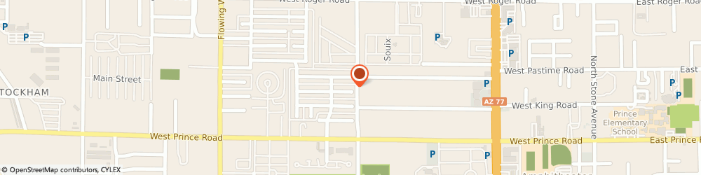 Route/map/directions to Aloha Creations Incorporated, 85705 Tucson, 910 WEST KING STREET