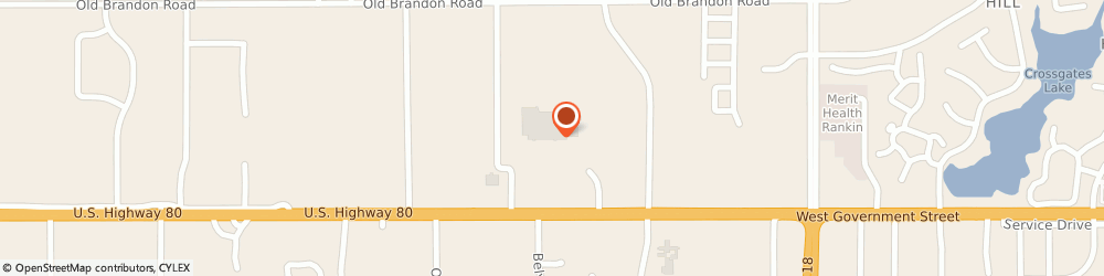 Route/map/directions to Mcdonalds Restaurant, 39208 Pearl, 5520 HIGHWAY 80 EAST