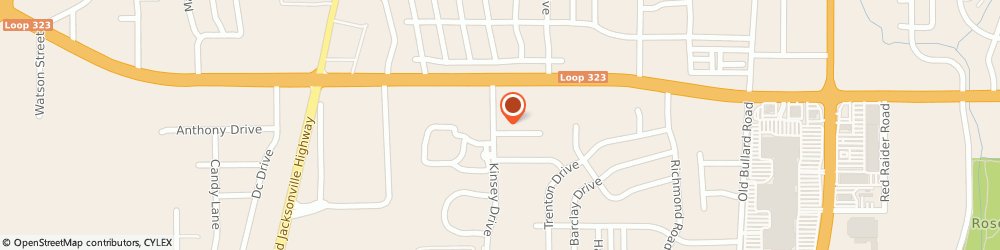 Route/map/directions to RE/MAX Tyler, 75703 Tyler, 4300 Kinsey Dr