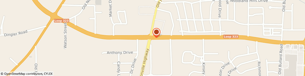 Route/map/directions to Beltone, 75701 Tyler, 1400 W Sw Loop 323 #100