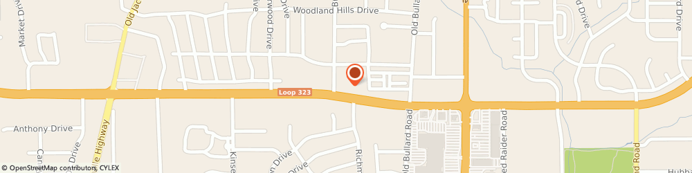 Route/map/directions to Chilis Grill & Bar, 75701 Tyler, 531 W. Sw Loop 323