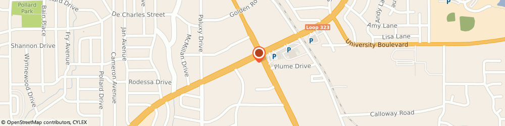 Route/map/directions to Mattress Firm Tyler, 75701 Tyler, 2119 E SE Loop 323