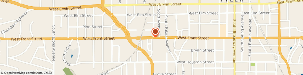 Route/map/directions to Mi Ranchito Mexican Restaurant, 75702 Tyler, 1014 W Front St