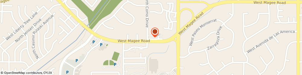 Route/map/directions to Goldstein Financial & Insurance, 85742 Tucson, 2292 W Magee Rd Ste 260