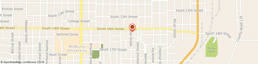 Route/map/directions to Battles Home Improvement Incorporated, 79602 Abilene, 1401 SOUTH 14TH STREET