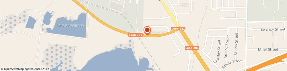 Route/map/directions to Maytag Retailer, 75606 Longview, 411 Loop 281