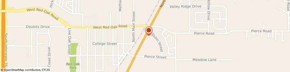 Route/map/directions to Valero RED OAK, 75154 Red Oak, 235 N Central Blvd