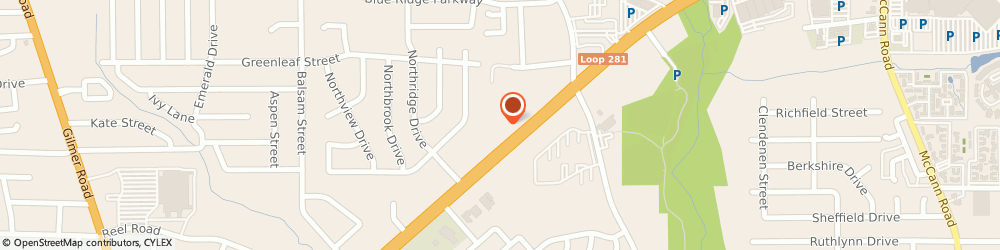 Route/map/directions to Beltone Hearing Aid Ctr, 75604 Longview, 1201 W LOOP 281 # 508