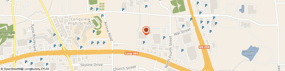 Route/map/directions to The Home Depot, 75605 Longview, 411 E Loop 281