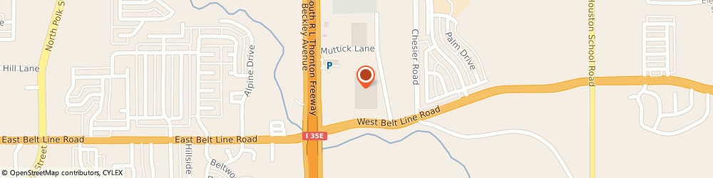 Route/map/directions to CITIBANK ATM, 75146 Lancaster, 150 N. Beckley