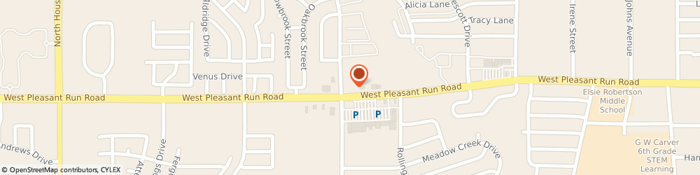 Route/map/directions to CITIBANK ATM, 75146 Lancaster, 1463 W Pleasant Run Rd