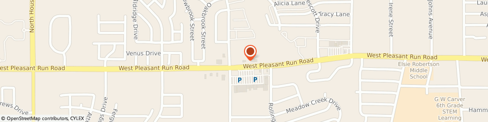 Route/map/directions to Citibank ATM, 75146 Lancaster, 1455 W. Pleasant Run Road