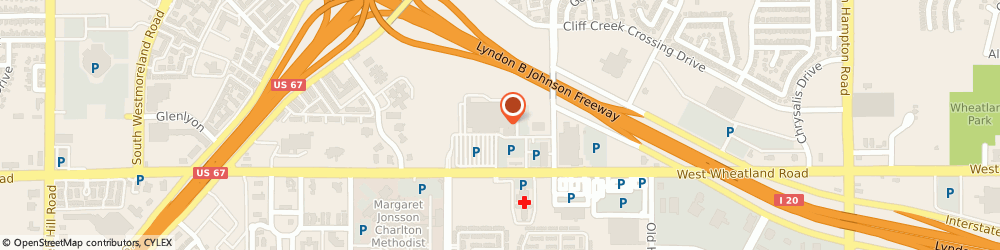 Route/map/directions to Jackson Hewitt Tax Service, 75237 Dallas, 3155 W. WHEATLAND ROAD
