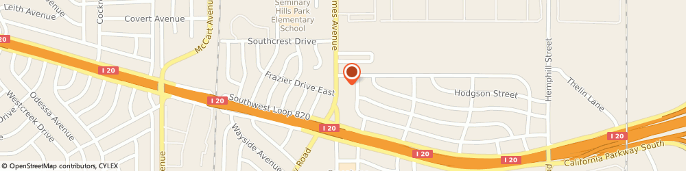 Route/map/directions to Speedy Tires & Auto Care, 76115 Fort Worth, 5309 James Ave