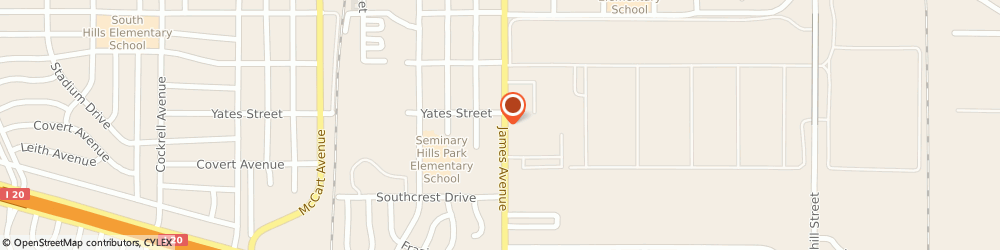 Route/map/directions to City Kids Child Care, 76115 Fort Worth, 5008 JAMES AVE