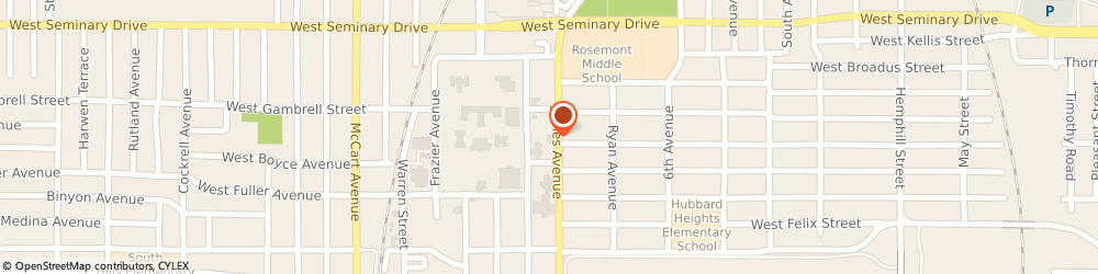 Route/map/directions to Tarrant Baptist Association, 76115 Fort Worth, 4520 James Ave