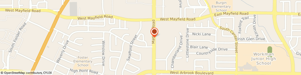 Route/map/directions to Citibank ATM, 76015 Arlington, 3532 Matlock Road