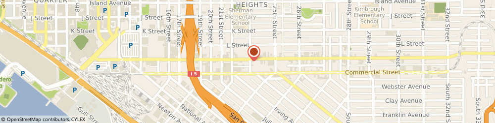 Route/map/directions to National Bitcoin ATM, 92102 San Diego, 2289 Imperial Ave