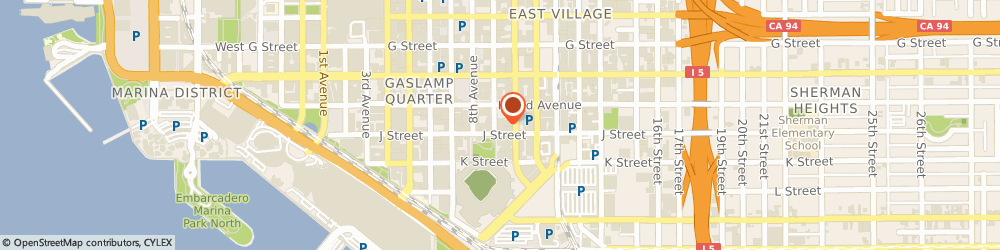 Route/map/directions to Citibank ATM, 92101 San Diego, 417 9Th Ave