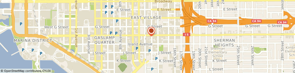 Route/map/directions to Citibank ATM, 92101 San Diego, 1223 Market St