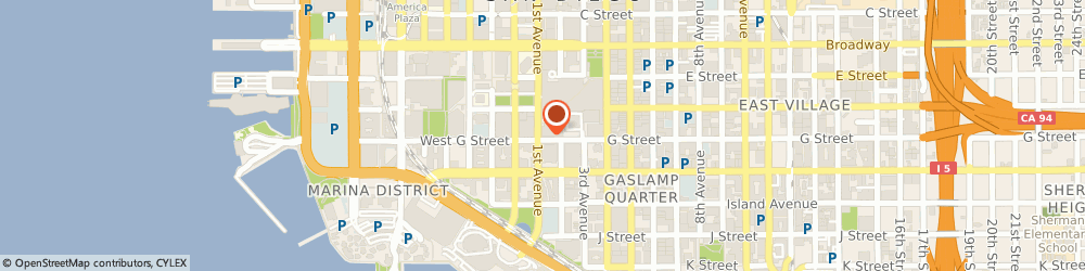 Route/map/directions to NORDSTROM San Diego, 92101 San Diego, 103 Horton Plaza