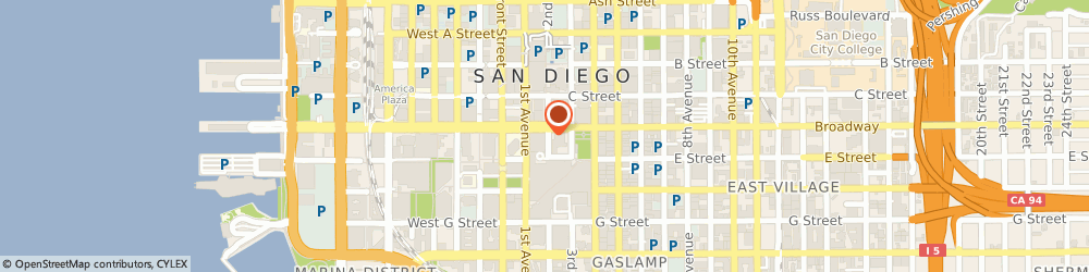 Route/map/directions to Citibank, 92101 San Diego, 145 Broadway