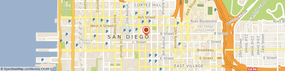 Route/map/directions to Wells Fargo Bank, 92101 San Diego, 401 B St