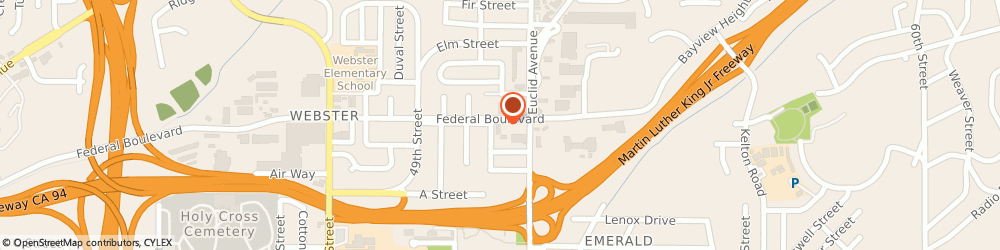 Route/map/directions to National Bitcoin ATM, 92102 San Diego, 5055 Federal Blvd