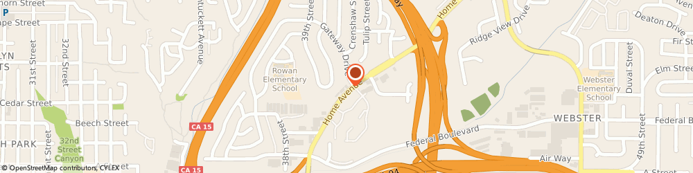 Route/map/directions to Citibank ATM, 92105 San Diego, 1702 Gateway Dr