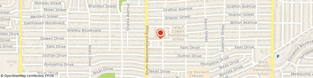 Route/map/directions to Jackson Hewitt Tax Service, 75211 Dallas, 3123 DAWES DRIVE
