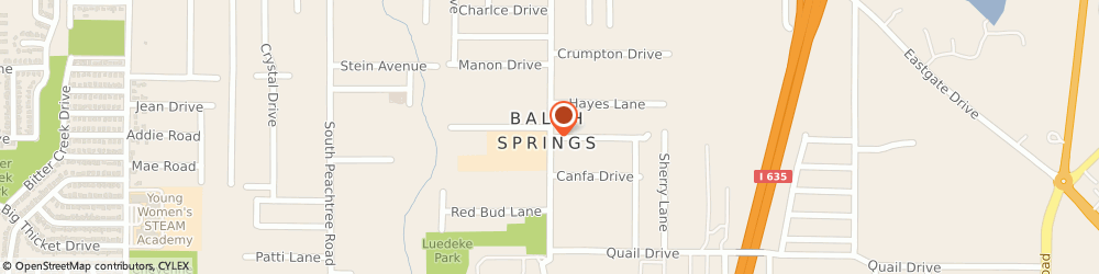 Route/map/directions to La Chapalita #2, 75180 Balch Springs, 2650 Hickory Tree Rd