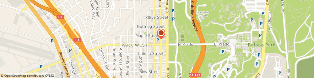 Route/map/directions to Edward Jones - Financial Advisor: Lee J Fox, 92103 San Diego, 2550 5th Ave