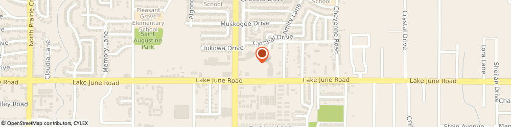 Route/map/directions to Jackson Hewitt Tax Service, 75217 Dallas, 10325 LAKE JUNE ROAD SUITE 124