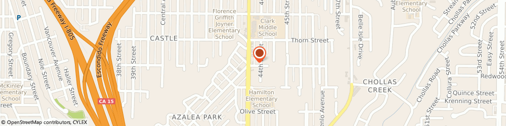 Route/map/directions to Citibank ATM, 92105 San Diego, 3105 Fairmount Ave