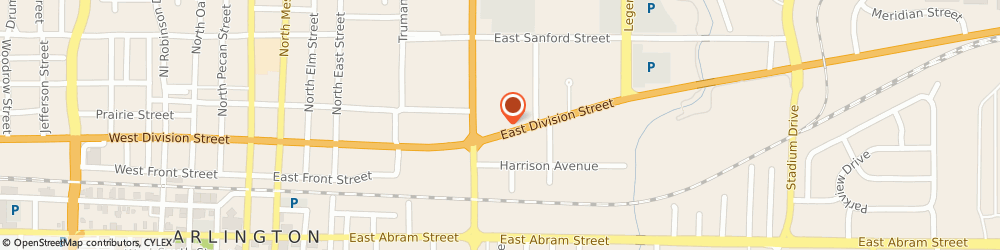 Route/map/directions to Citibank ATM, 76011 Arlington, 901 East Division