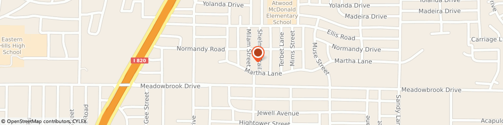 Route/map/directions to Video Library Inc, 76112 Fort Worth, 6751 JOHN T WHITE RD