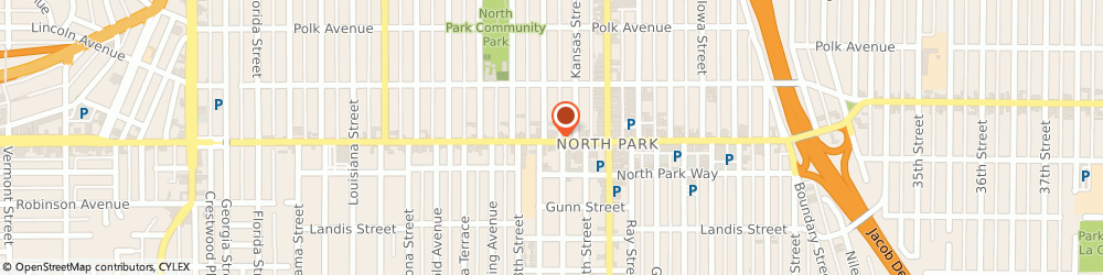 Route/map/directions to State Farm Insurance, 92104 San Diego, 2856 University Avenue