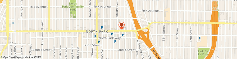 Route/map/directions to Citibank ATM, 92104 San Diego, 3152 University Ave