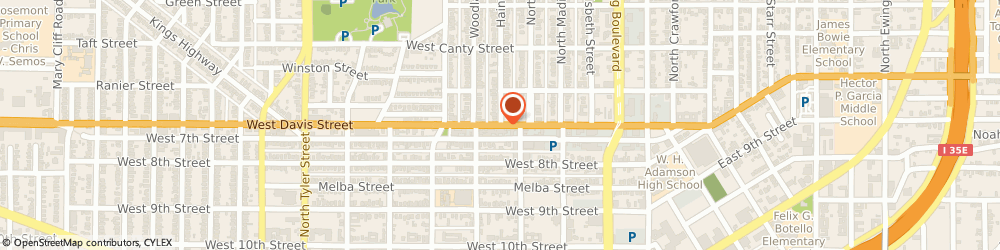 Route/map/directions to Jackson Hewitt Tax Service, 75201 Dallas, DAVIS STREET