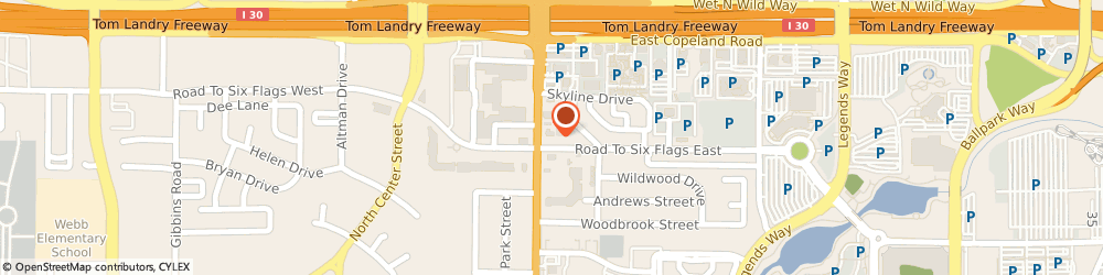Route/map/directions to Citibank, 76011 Arlington, 1401 N Collins St