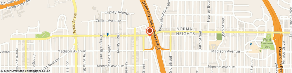 Route/map/directions to Citibank ATM, 92116 San Diego, 4687 Ohio St