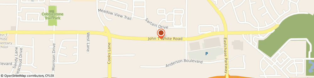 Route/map/directions to Blue Line Electronics, 76120 Fort Worth, 8028 John T White Rd