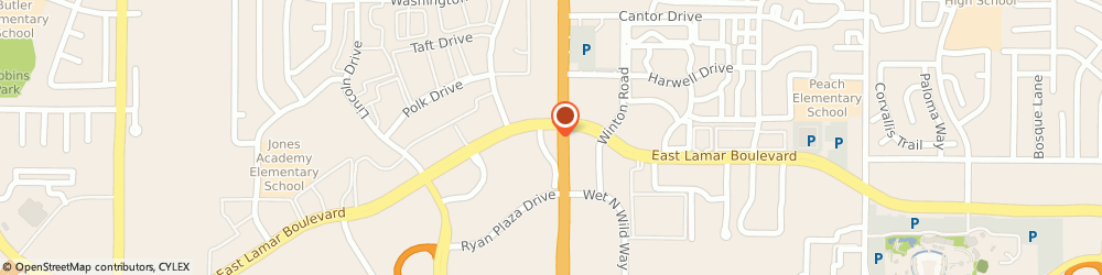 Route/map/directions to Citibank ATM, 76011 Arlington, 1920 N Collins St