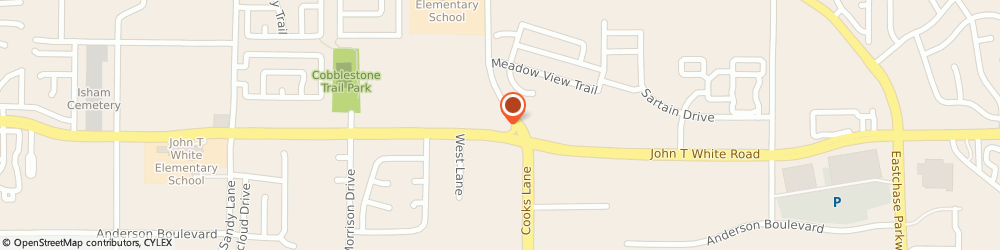 Route/map/directions to S J Mac Kenzie, 76120 Fort Worth, 7525 JOHN T WHITE RD