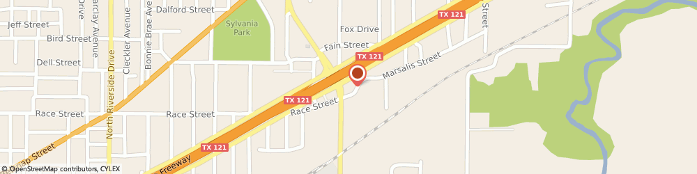Route/map/directions to 7-Eleven, 76111 Fort Worth, 820 N Beach St