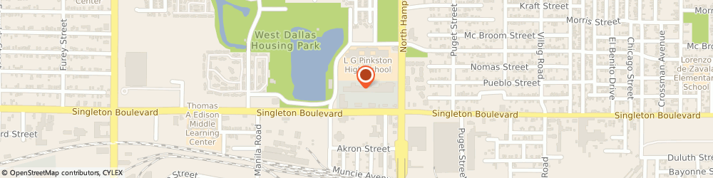 Route/map/directions to DTLR, 75212 Dallas, 2223 Singleton Blvd