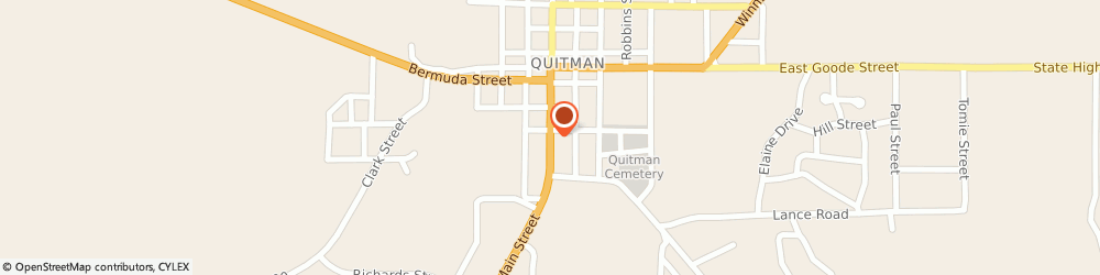 Route/map/directions to Exxon Mobil QUITMAN, 75783 Quitman, 412 S Main St