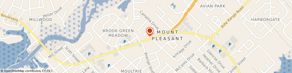 Route/map/directions to CITIBANK ATM, 29464 Mount Pleasant, 822 Coleman Blvd
